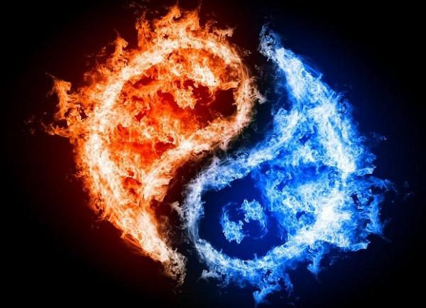 Nếu thấy đám lửa đã được dập tắt bởi nước tức là may mắn đang tới