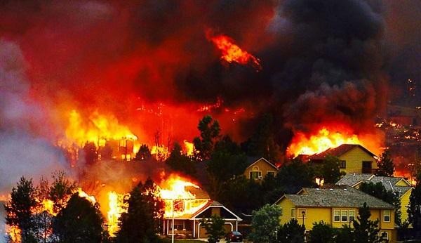Mơ thấy nhà hàng xóm cháy có thể đem tới những con số may mắn