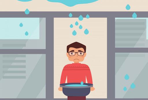 Nằm mơ thấy trời mưa dột vào nhà là may mắn hay xui xẻo