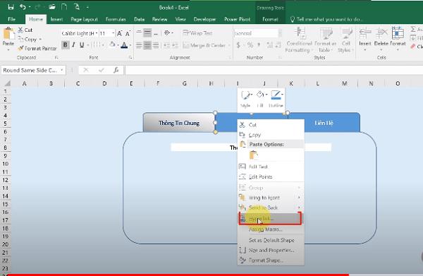 Chọn hyperlink cho sheet thứ 2 để tạo link dẫn trong excel