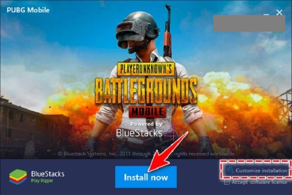 Click vào Install Now để tiến hành cài đặt phần mềm giả lập