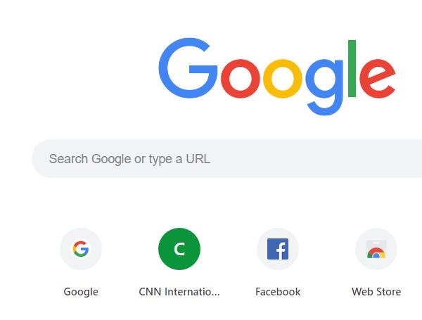 Truy cập vào google