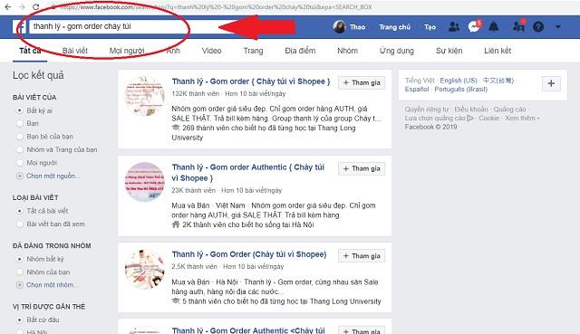 Trên Facebook có những loại nhóm nào